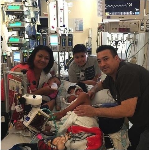 pulmonary artery to left atrial shunt, heart lung transplant, Oswaldo, Stanford Children's Health