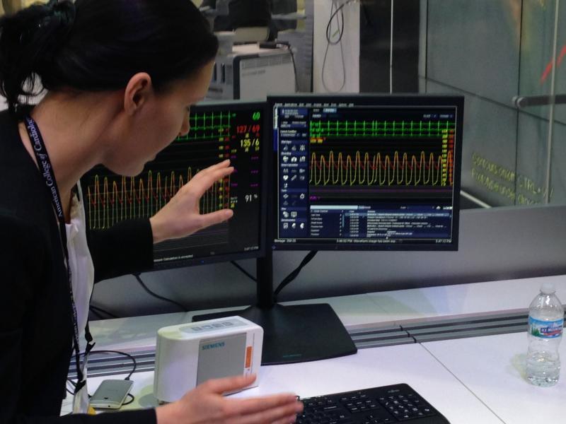 Siemens Sensis Vibe, hemodyanamics system