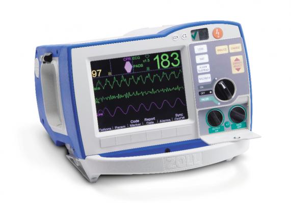 defibrillator-monitors, defibrillator monitor, crash cart, Zoll R series