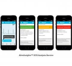 cardiac diagnostics software mobile devices ecg monitoring services alivecor