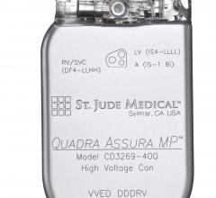 St. Jude Medical, Quadra Asssura CRT-D, Quadra Assura MP, MR conditional labeling, CE Mark