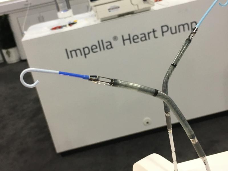 Abiomed Impella percutaneous ventricular assist device (pVAD) heart pump gains FDA PMA for high risk PCI.