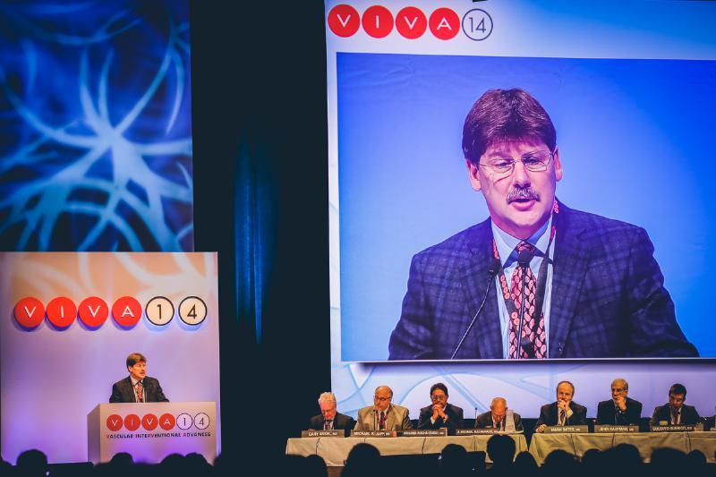 VIVA, VIVA Physicians, Peripheral, Carotid Artery Device, clinical trial results