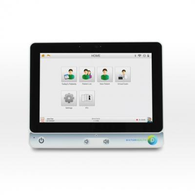 Dictum Health, telehealth study, IDM100 tablet, neonate cardiology, in-home monitoring
