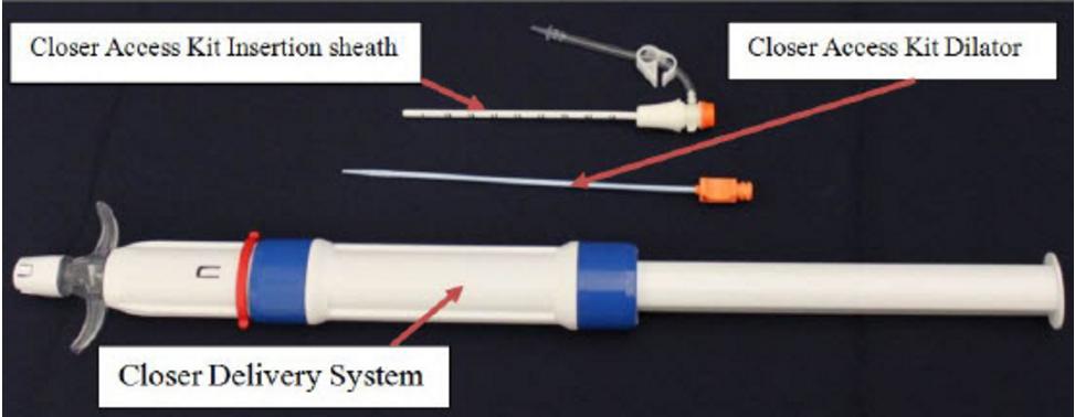 Rex medical, Closer Vascular Sealing System, VSS, vascular closure, bioresorbable vascular closure device