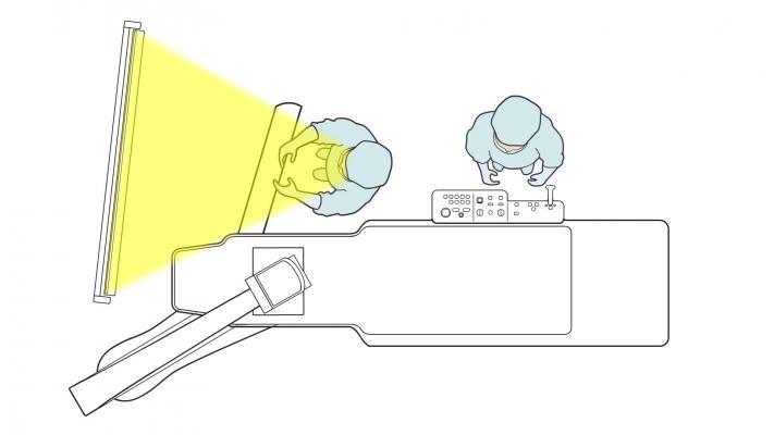 RSNA 2012 Toshiba Infinix X-ray WorkRite Technology