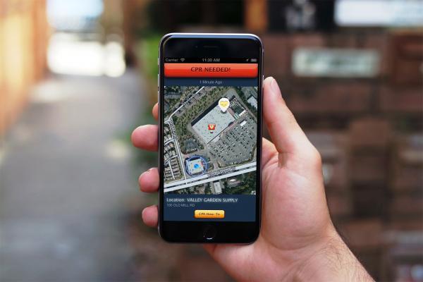 pulsepoint respond app speeds bystander cpr assists in sudden