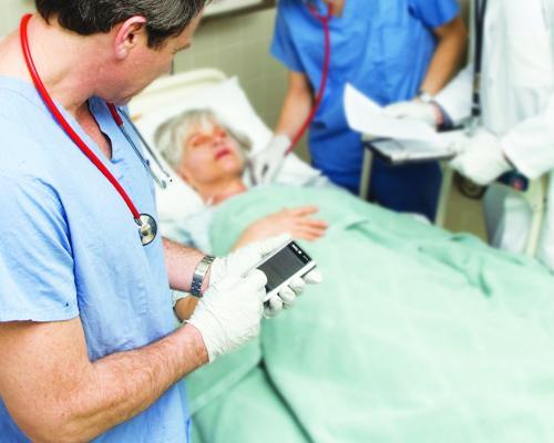 smartphone application, heart attack detection, University of Turku Finland