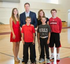 Fred Hoiberg, Chicago Bulls coach, On-X aortic heart valve, education campaign