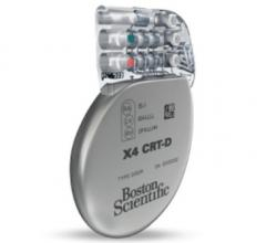 Boston Scientific, Acuity X4 quadripolar left ventricular leads, FDA approval, ENABLE MRI study
