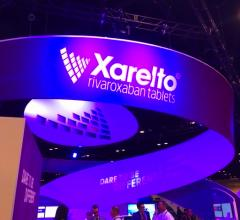 The Xarelto booth at ACC.18