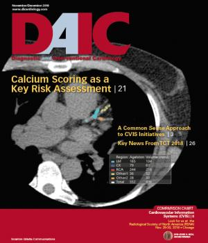The November-December 2018 issue of Diagnostic and Interventional Cardiology (DAIC) magazine. Dave Fornell