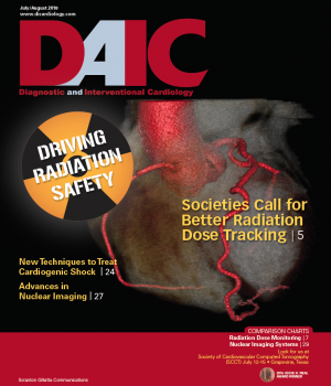The July-August issue of Diagnostic and Interventional Cardiology (DAIC magazine. Dave Fornell is the editor of DAIC.