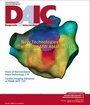 DAIC, diagnostic and interventional cardiology magazine, covers the latest cardiovascular technology. Dave Fornell is the editor