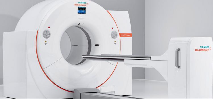 Siemens Biograph Vision PET-CT system.
